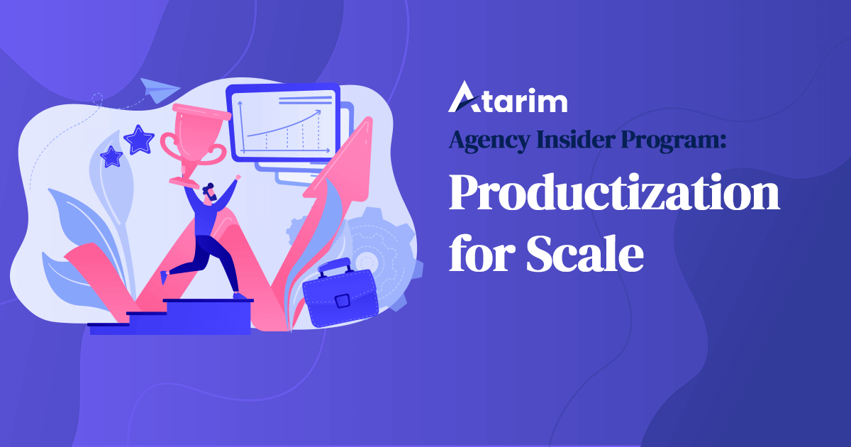 Productization for Scale